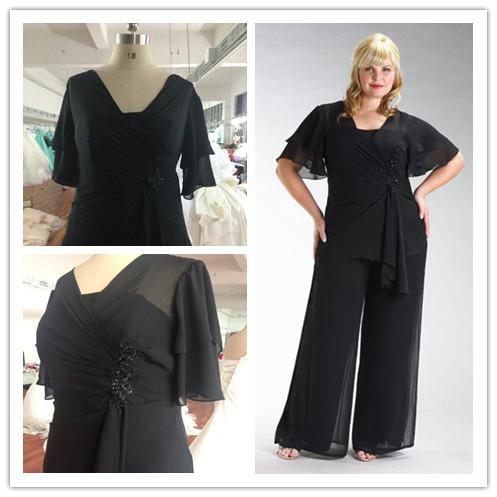 Compare Prices on Plus Size Chiffon Pant Suit- Online Shopping/Buy ...