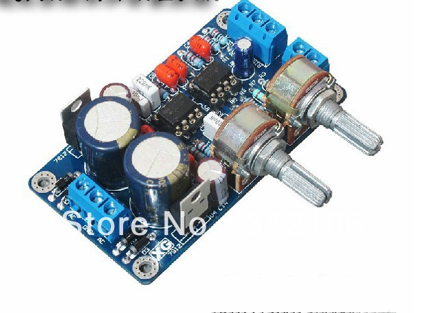 Free Shipping! NE5532 subwoofer preamp board DIY subwoofer low pass filter plates