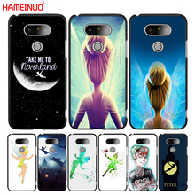 HAMEINUO tinkerbell and peter pan case phone cover for LG G6 G5 K10 K7 K4 magna Spirit 2016 2017