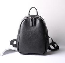2017 европейский и американский Стиль натуральная кожа рюкзаки Простой повседневные Сумки На Плечо Лидер продаж модные рюкзаки