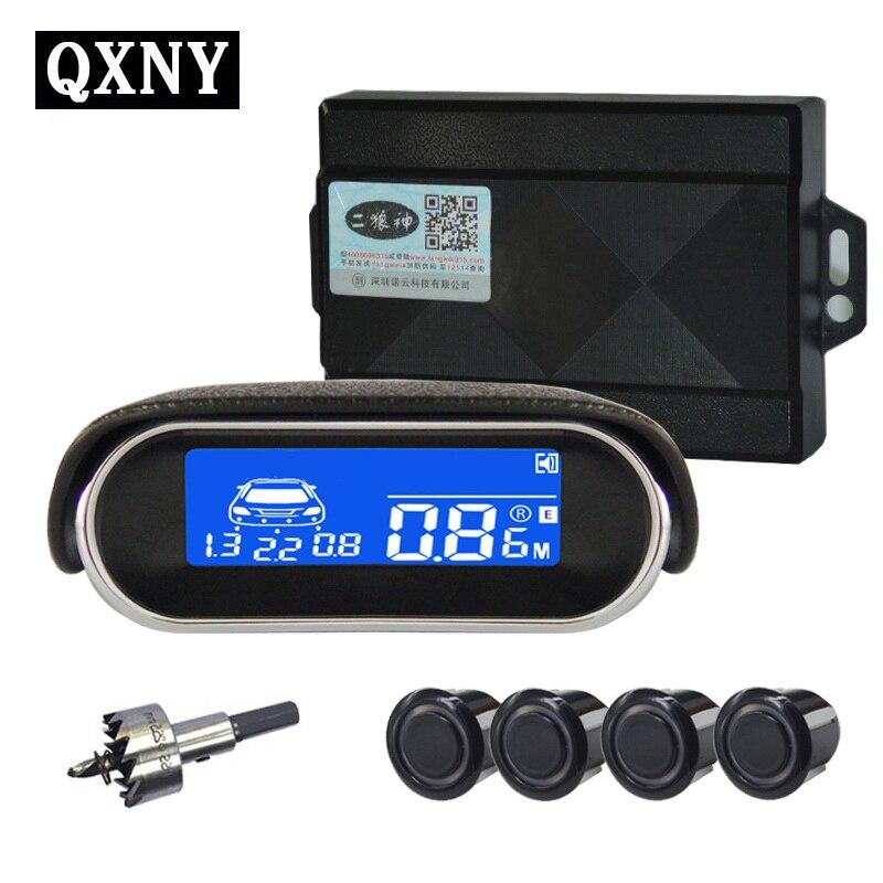 4/Сенсор S ny9090 автомобиля ЖК-дисплей парковка Сенсор комплект Дисплей для всех автомобилей Автостоянка детектор парктроник парковка Сенсор