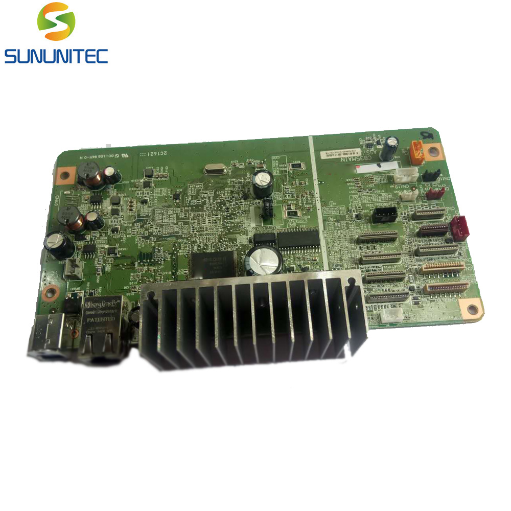 FORMATTER PCA ASSY Formatter Board logic Main Board MainBoard mother board For Epson R2000 1pcs used main board formatter board for epson l365 l366 l375 printer main logic mother board