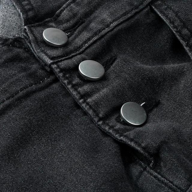 Men jumpsuit Men's Overall Casual pantalones hombre Jeans Wash Broken Pocket Trousers Suspender pantalon invierno hombre Pants