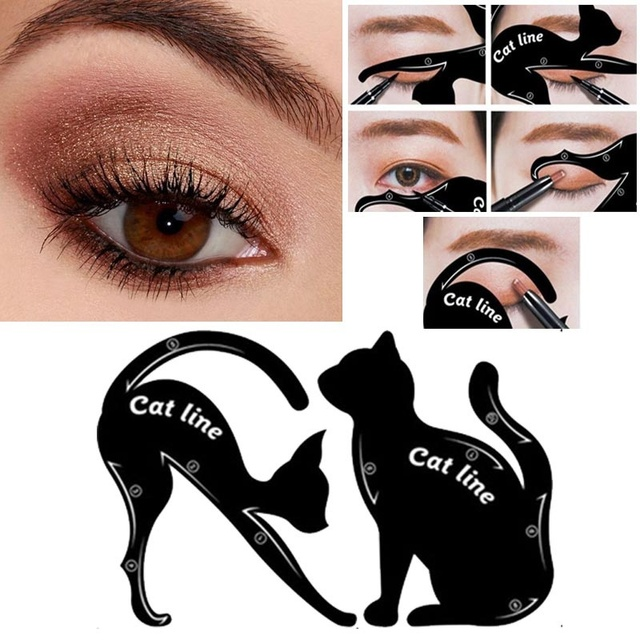 Multifunction Cat Line eyeliner Makeup Tools