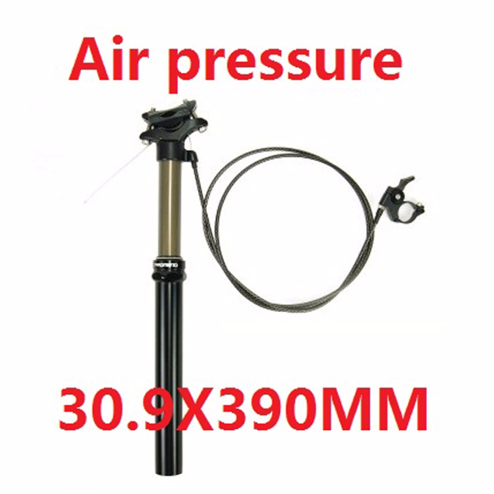 30.9/31.6mm Lever Remote Control Mountain Bike Seatpost Cycle Suspension Downhill MTB Bicycle Adjustable Seatpost new adjustable bike seatpost hydraulic air pressure 30 9mm or 31 6mm remote control adjustable bike seat post mtb bike seatpost