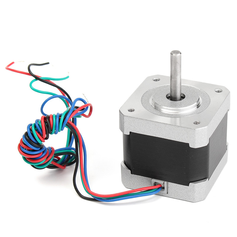 For Nema 17 Stepper Motor 1.8 Degree 2 Phase 4-wire For 3D Printer/CNC Monitor Equipment 5 W 1.7A Durable Quality
