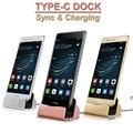 Tipo C de Sincronización y Carga USB Dock Cargador de Soporte de Carga Para oneplus 2 nexus 5x nexus 6 p microsoft lumia 950/950 xlhuawei p9 plus