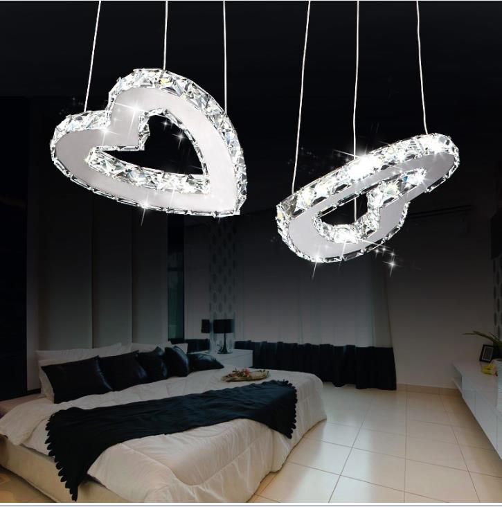 Modern LED Crystal Chandelier Heart-shaped Crystal Lamp chandelier Bedroom Living Room Lamp lamp holder K9 Crystal lightsModern LED Crystal Chandelier Heart-shaped Crystal Lamp chandelier Bedroom Living Room Lamp lamp holder K9 Crystal lights