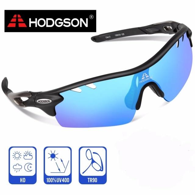 2157e1777d HODGSON 2017 Photochromic Cycling Sunglasses Blue Photochromic Lens  Polarized Cycling Glasses Bike Bicycle Glasses for MEN WOMEN