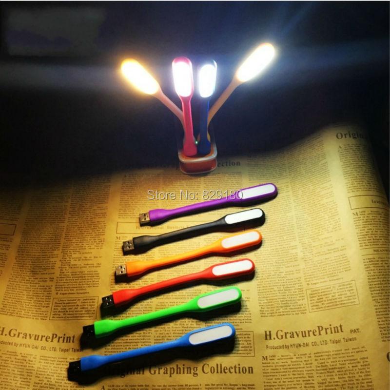 2 шт. Яркий Гибкая мини USB светодиодные лампы для ноутбука/Запасные Аккумуляторы для телефонов/компьютера/стол Чтение красочные Лампы для мо...