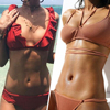 Hot Sexy Bikini 2017 Newest Swimwear Women Swimsuit Top Low Waist Bathing Suits Push Up Brazilia