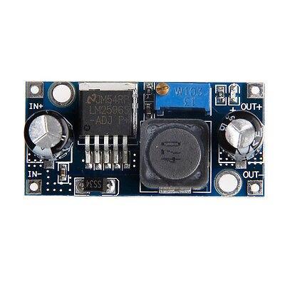 LM2596S-ADJ DC-DC Switching Step Down Module Power Supply Converter 12V 24V New 1pcs dc dc lm2596 adj lm2596s dc dc adjustable buck module