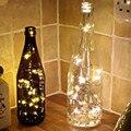 1 M Hadas de la Secuencia Luz 10 LED Con Pilas de la Navidad Luces Del Partido de La Boda de La Lámpara cadena de luces navideñas L1216