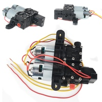 Mayitr DC 12V High Pressure Diaphragm Car Water Pump Automatic Diaphragm Washer Self Priming Hydraulic Pump