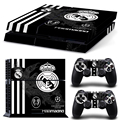 Vinyl For Famous football team PS4 Sticker For Sony Playstation 4 Console+2 controller Skin Sticker For PS4 Skin Free Shopping