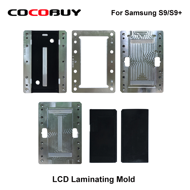 Laminating mold for Samsung Galaxy S9 S9 Plus unbent LCD OCA Polarizer Film Glass Laminating repair