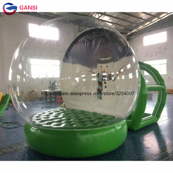 Outdoor bubble lawn inflatable dome camping tent clear good show tens factory price inflatable transparent tent from china factory inflatable bubble camping tent with double rooms waterproof photobooth bubble sleeping tents inflatable clear dome tent