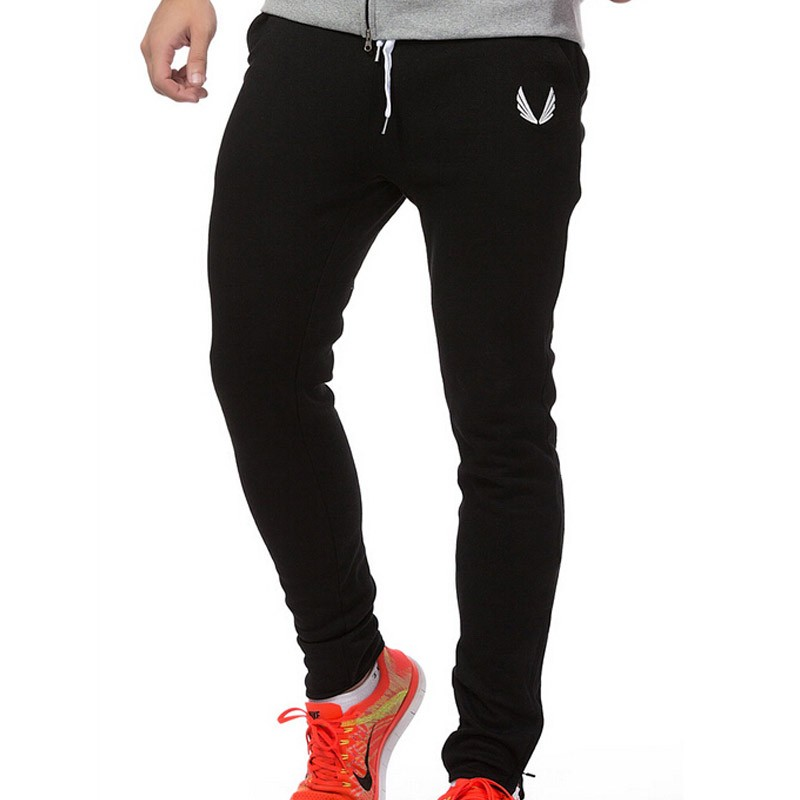 16a020b91 2017 new fashion Men Gyms Pants Casual Elastic cotton Mens Fitness Workout  Pants skinny,Sweatpants Trousers Jogger Pants-in Skinny Pants from Men's  Clothing ...