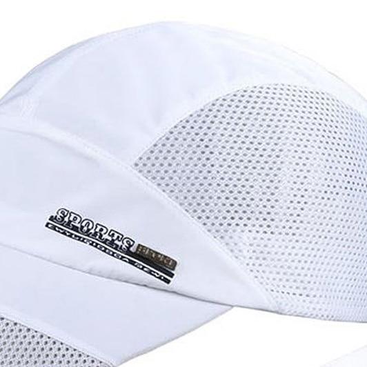 c48f81ba81c NEW Fashion Mens Summer Outdoor Sport Baseball Hat Running Visor cap white-in  Baseball Caps from Apparel Accessories on Aliexpress.com