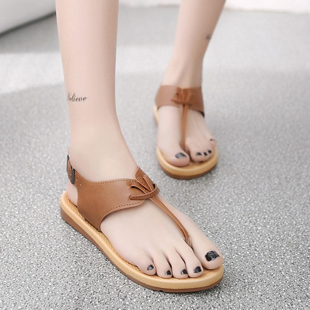 f57d208de6e609 Women Sandals Flip Flops New Summer Fashion Rome Slip-On Breathable  Non-slip Shoes Woman Slides Solid Casual Female ~ Perfect Deal April 2019