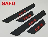 Fit For Mazda CX 5 CX 5 CX5 Door Sill Scuff Plate Guards Door Sills Strip