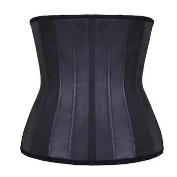Women\'s 25 Steel Boned Latex Waist Train Corset Underbust Corsets and Bustiers Body Shaper PlusSize 5XL Harness Bustier Corselet