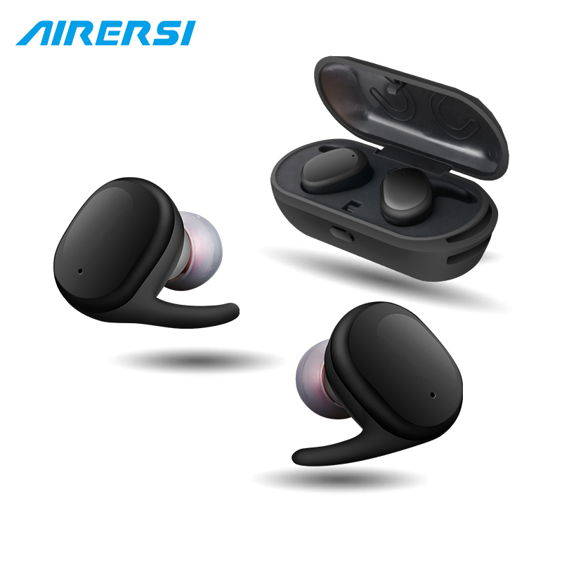 True Waterproof Touch Wireless earphone Sport headphone Stereo Handsfree TWS Mini bluetooth Headset with mic for samsung xiaomi 2016 new brand fashion metal bluetooth earphone hifi stereo wireless sport headset handsfree headphone with mic for mobile phone