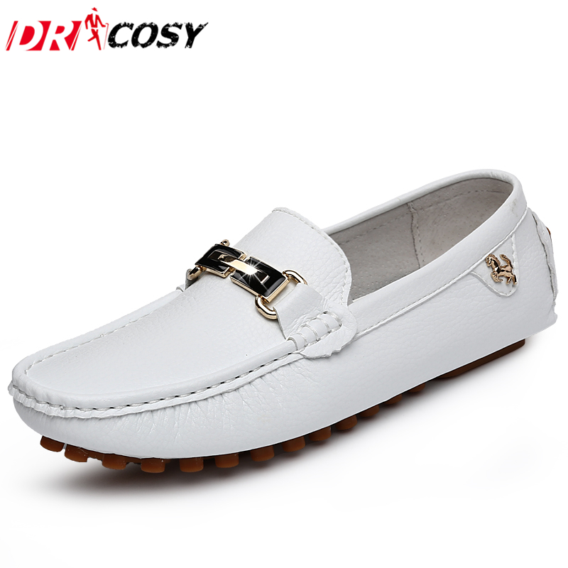 Top Quality Genuine Leather Men Driving Shoes Casual Men Loafers British Slip On Breathable Boat Shoes Moccasins Men Flats 38-44  new men leather driving moccasins shoes british hollow men s slip on loafers summer flats men shoes casual comfy breathable