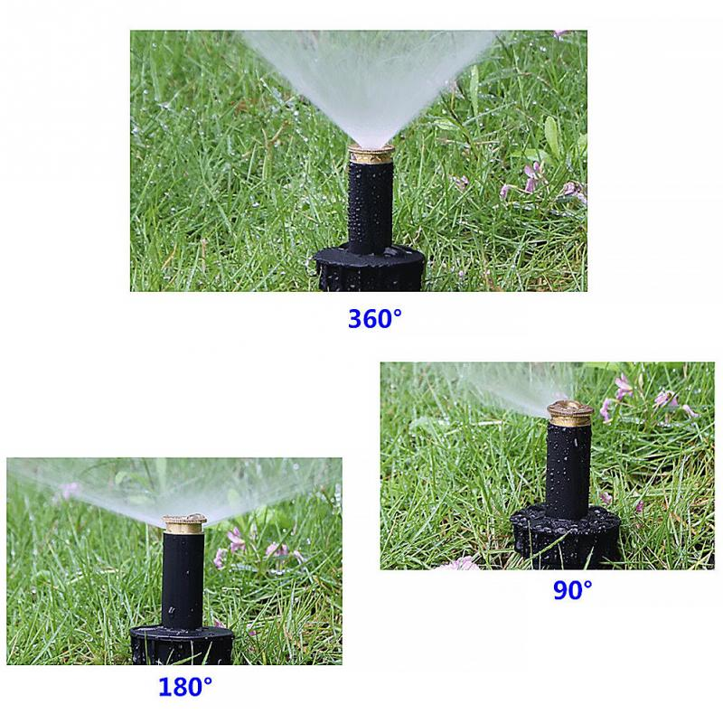 HTB11IueJxSYBuNjSsphxh6GvVXaG - 90/180/360 Degrees Adjustable Pop Up Spray Sprinklers Automatic Retractable Watering