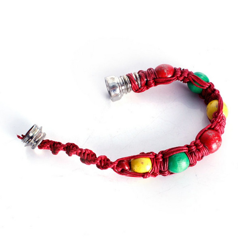 Portable Metal Bracelet Smoking Pipe Herb Weed Pipe Smoke Tobacco Pipes For Cigarette Machine Smoking Accessories 1