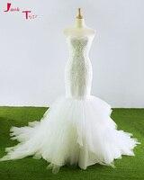 Jark Tozr Custom Made Off the Shoulder Sexy Wedding Dress Plus Size 2018 Abiti Da Sposa Alibaba China Beading A line Bridal Gown