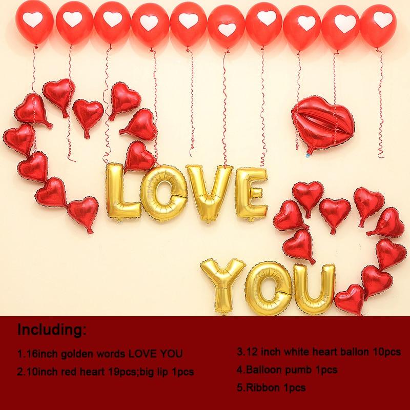 Aliexpresscom  Buy 1 Set DIY Romantic Valentine Day Decoration I