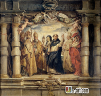 Canvas Prints Doctores De La Iglesia Home Supplies Monder Art Pictures Oil Painting For Corridor 13