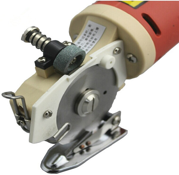 Tools : Electric Fabric Cutting Machine 150W 65mm Stainless Steel Blade Electric Round Knife Cloth Cutter YJ-65 High quality