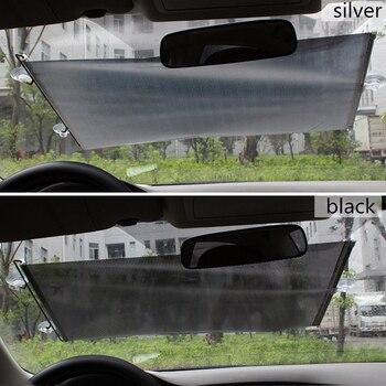 Auto Retractable Car Sun Visor Front Windshield Window Sun Shade Shield Visor Cover Car Window Cover Sunshade Curtain Protection baseus retractable car sunshade windshield sun shade protector windscreen sun blind visor cover auto front car window protection