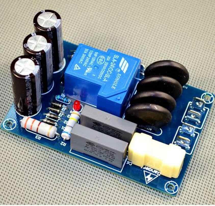 220 В высокой мощности класса A усилитель HIFI fever усилитель Мягкая пусковая плата G1-009