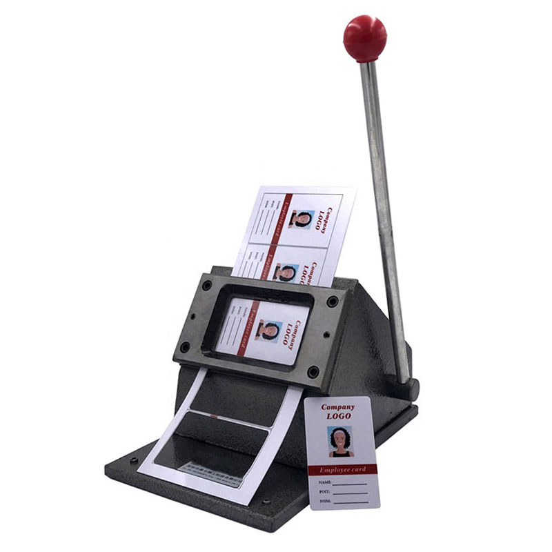 86*54 coin rond manuel pvc carte machine poinçon carte machine carte machine papier cutter carte de visite carte machine