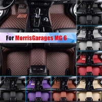 Waterproof Car Floor Mats For MorrisGarages MG 6 All Season Car Carpet Artificial Leather Full Surrounded All Weather