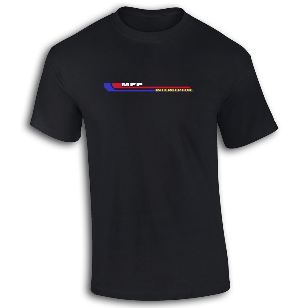 Mad Max MFP Interceptor Mens Cotton Tee T Shirt Retro Film TS461 Top Tee 100 Cotton Humor Men Crewneck Tee Shirts Black Style in T Shirts from Men 39 s Clothing