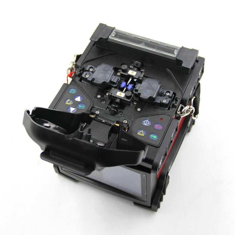 Máquina de empalme por fusión DVP 740, empalmador de fusión de fibra óptica DVP-740 FTTH, empalmador de arco de fusión por DHL