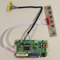 DVI+VGA LCD controller board work for 12.1inch HSD121PHW1 1366*768 lcd panel