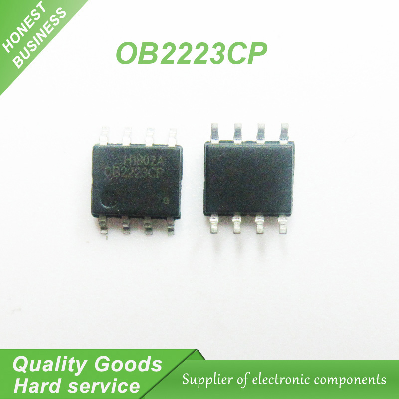 10pcs/lot LCD chip <font><b>OB2223CP</b></font> OB2223 SOP-8 SMD 8-pin new original image