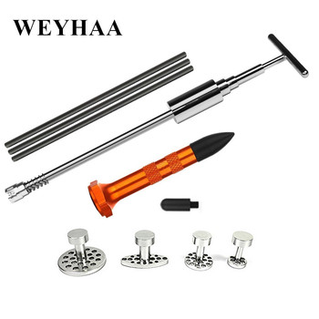 цена на PDR Tools Dent Repair Puller Tabs Slide Hammer Glue Sticks Paintless Dent Removal Tap Down with 2 Head tap down Hand Tool Set