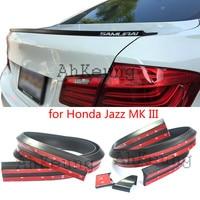Dla Honda Jazz MK III 2008-2016 Hatchback Samochód Taśmy Tylny Spoiler Bagażnika Tylny Spojler Skrzydło Tylne Skrzydło Spoiler