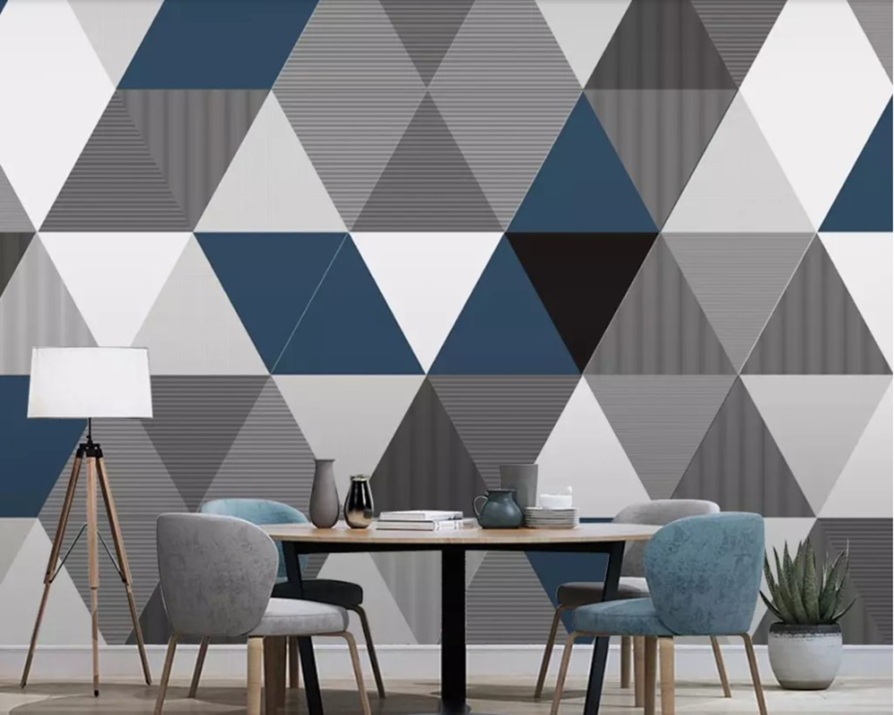 Papel de parede Modern geometric 3d wallpaper,living room TV sofa wall bedroom wall papers home decor restaurant bar muralPapel de parede Modern geometric 3d wallpaper,living room TV sofa wall bedroom wall papers home decor restaurant bar mural