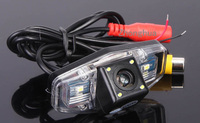 HD CCD Car Reverse Camera for Honda Accord Civic Europe Pilot Odyssey Acura TSX LED Light Night Vision Backup Kit Free Shipment