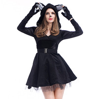 New Animal Cosplay Costume Halloween Costume Sexy Catgirl COS Dress Fantasy Exotic Clothes Hot Sale High