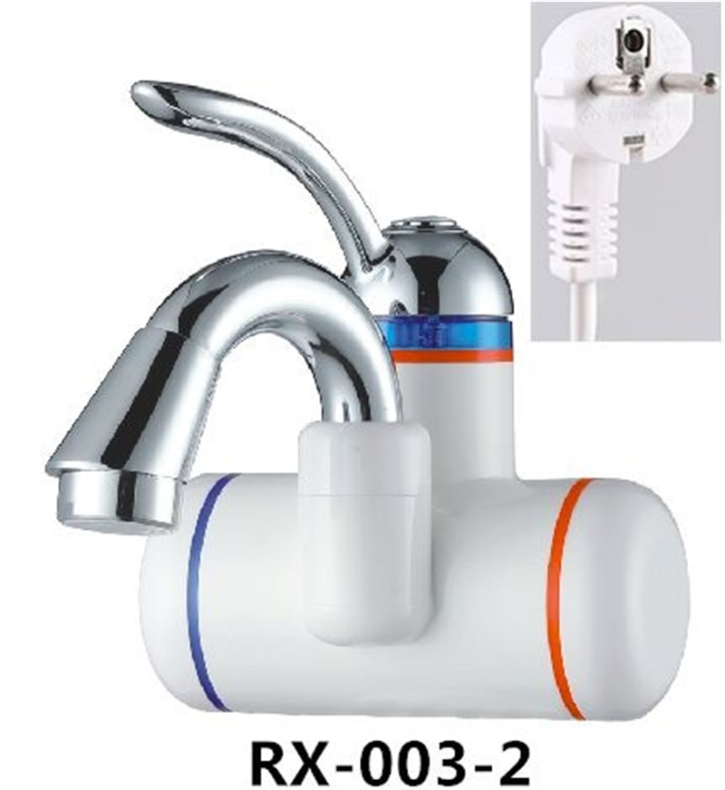 RX-003-2,Digital Display Instant Hot Water Tap,Fast Electric Heating Water Tap,Inetant Electric Heating Water Faucet