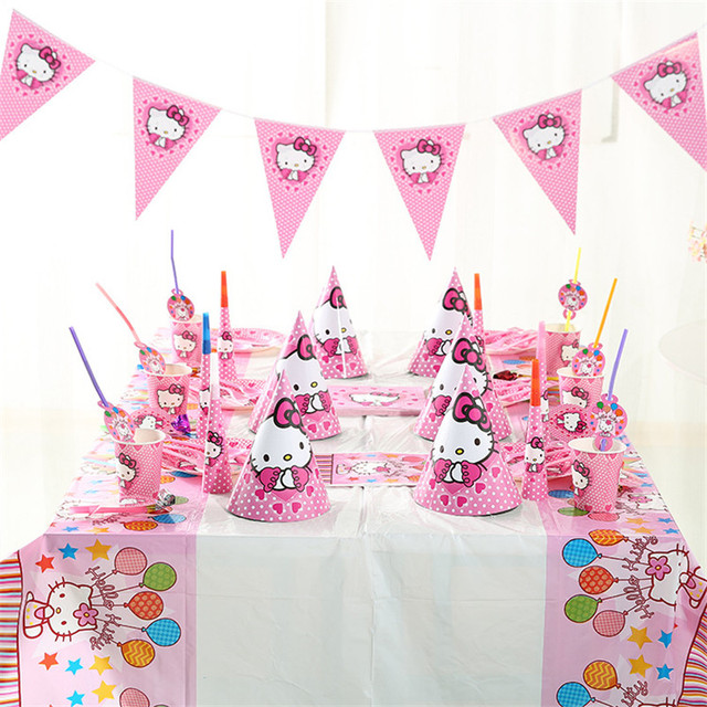 Hello Kitty Decoration Bday Party crowdbuild for