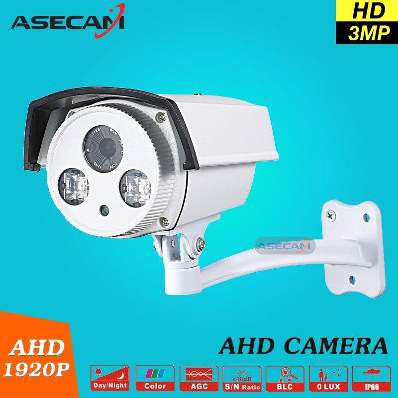 bilder für Qualität Picks Full HD 1920 P Außenüberwachung Epistar 42Mil Array infrarot 80 Mt AHD 3MP Sicherheit Kamera Gute Nacht Vision